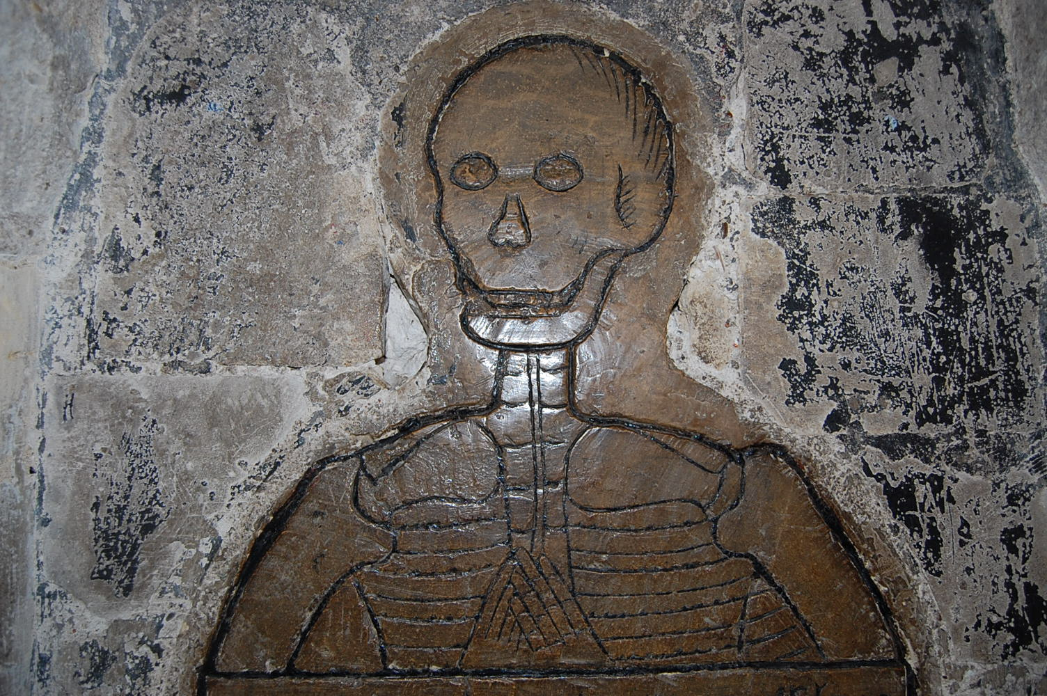 The Skeleton, Norwich Cathedral