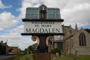 Wiggenhall St. Mary Magdalen Sign