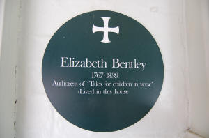 Elizabeth Bentley Plaque