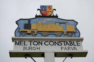 Melton Constable Sign