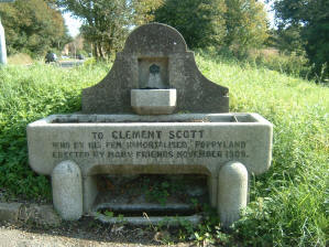Clement Scott Memorial Fountain