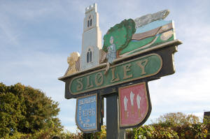 Sloley Village Sign